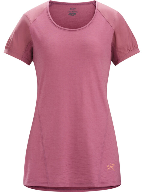 Arc'teryx Lana Comp - Camiseta manga corta Mujer - rosa